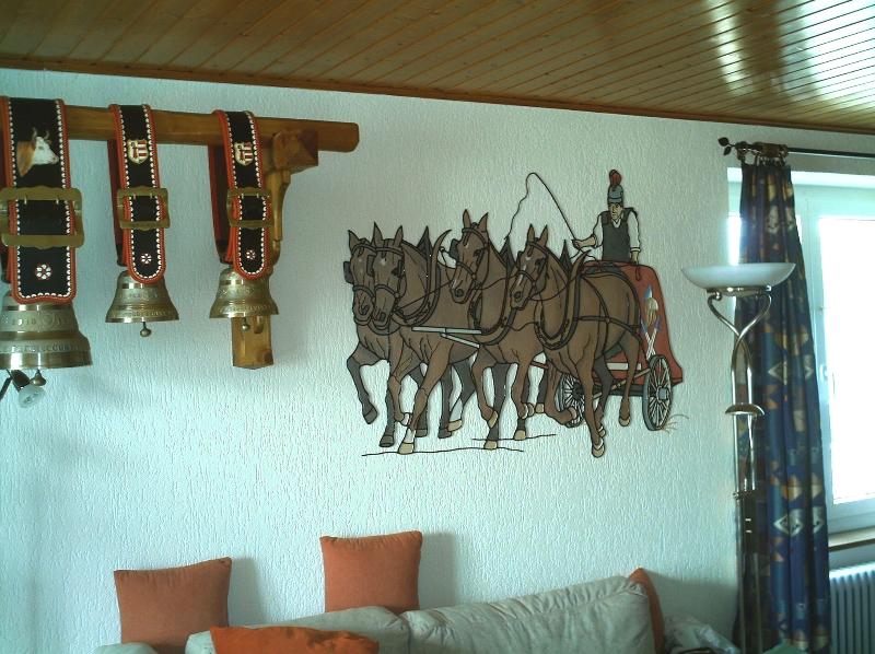 D coration int rieure d cors robin d coration de for Decor mural fer forge