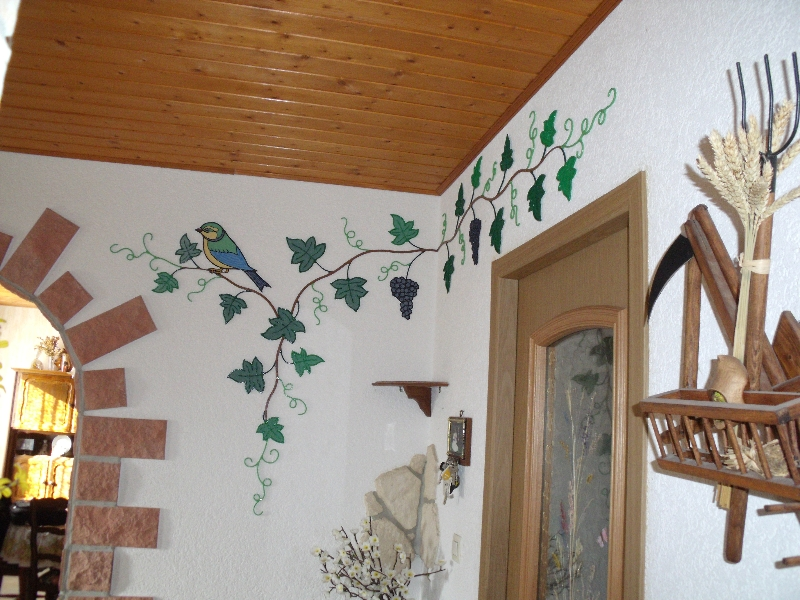 Decoration murale interieur fer forge id e - Deco fer forge mural ...