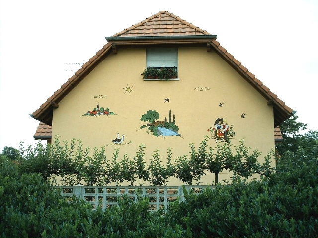 D coration murale d cors robin d coration de maison en for Decoration murale exterieure
