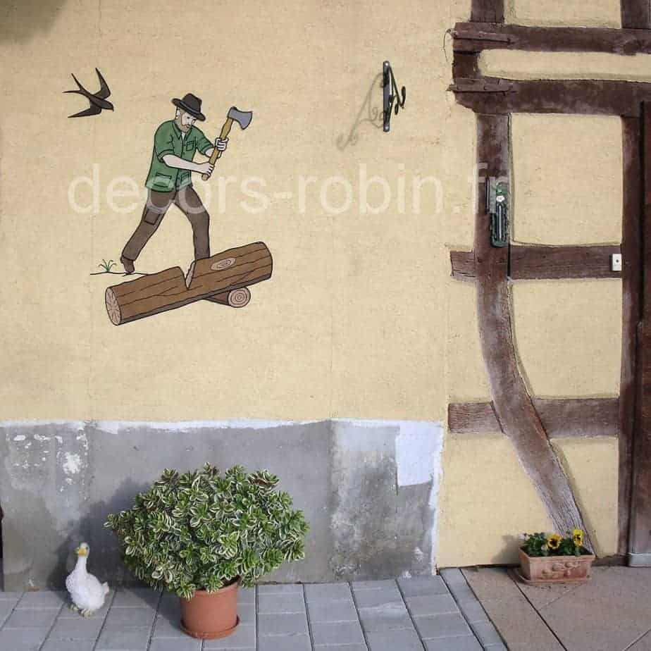 Décoration extérieure   Atelier Robin