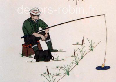 Pêcheur à la ligne Réf.187A