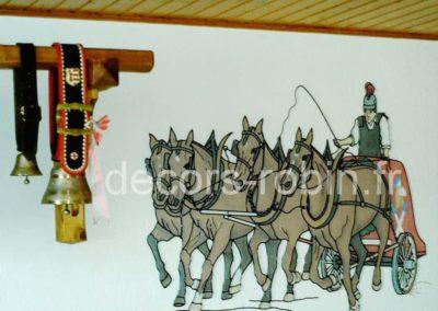 Char romain Réf.1510 Char à 4 chevaux