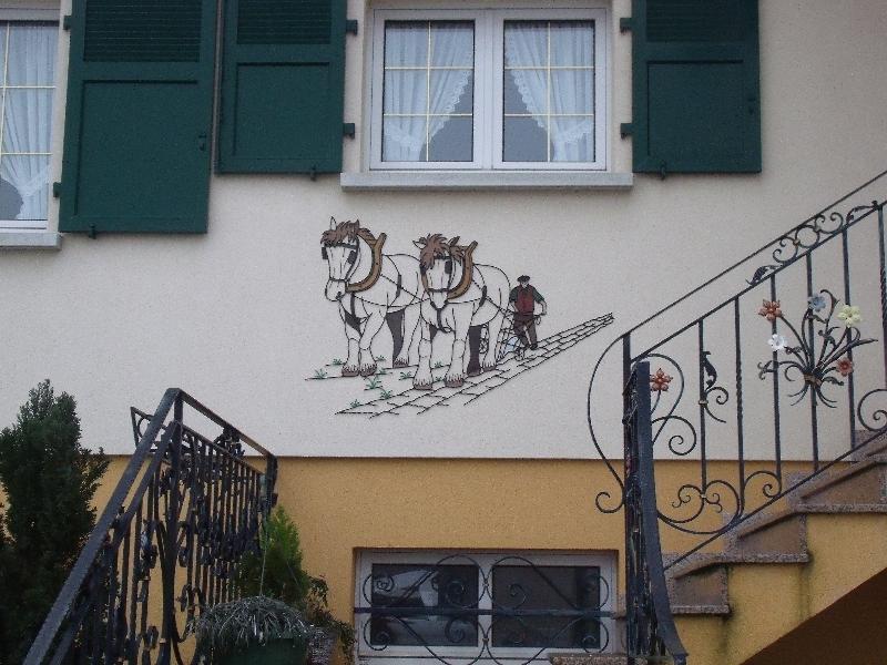 Decoration de facade en fer